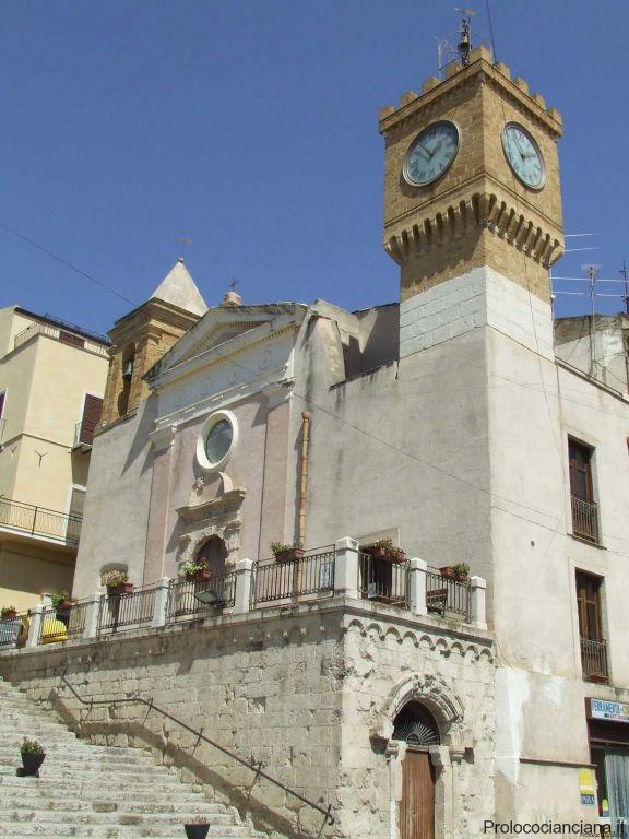 Casotti e Torre dell\'orologio
