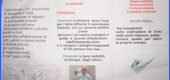 Cianciana 12 febbraio 2016 Centro Italiano Femminile a Cianciana